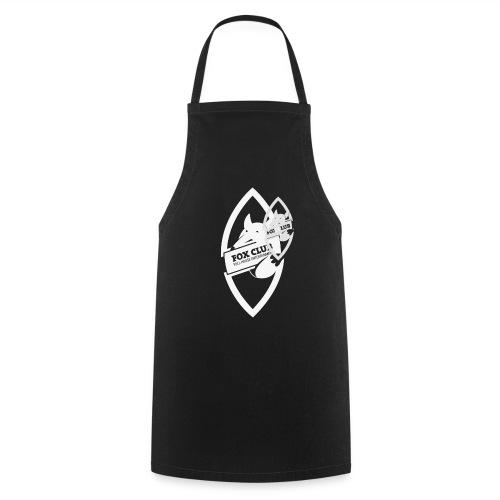 fox-hoodie black - Kochschürze