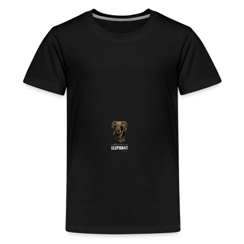 Save the Elephants Campaign : Rucksack - Teenage Premium T-Shirt