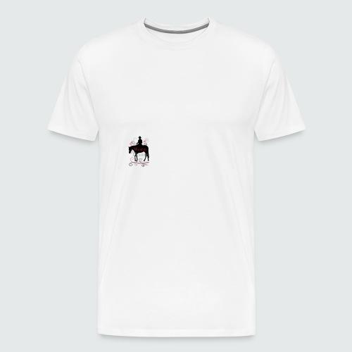 Motiv-164-Schwarz-Magenta-Grau - Männer Premium T-Shirt