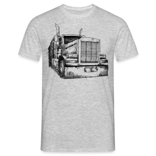 Typewriter Truck - Männer T-Shirt