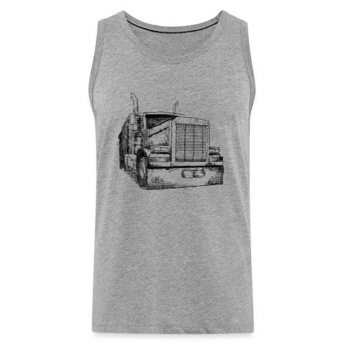 Typewriter Truck - Männer Premium Tank Top
