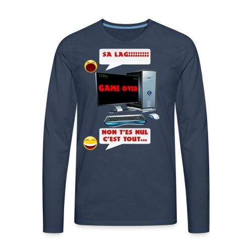 T-shirt Sa lag!!!! - T-shirt manches longues Premium Homme