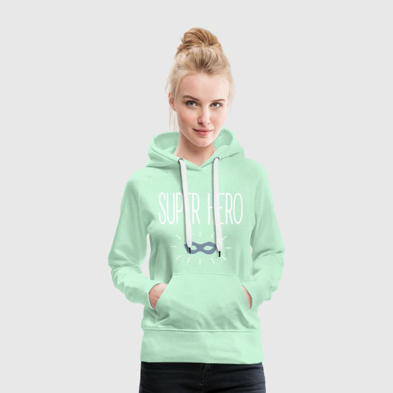 Super Hero Sweat-shirts - Sweat-shirt à capuche Premium pour femmes