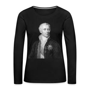 Women's Marquis de Laplace - Women's Premium Longsleeve Shirt