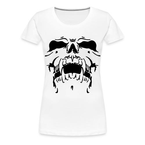 Sweat Cinza Caveira - Women's Premium T-Shirt