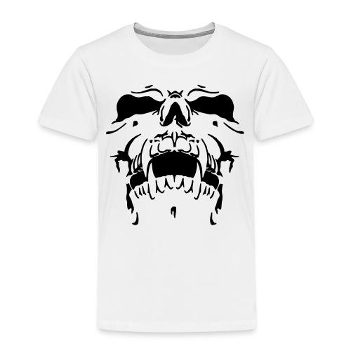 Sweat Cinza Caveira - Kids' Premium T-Shirt