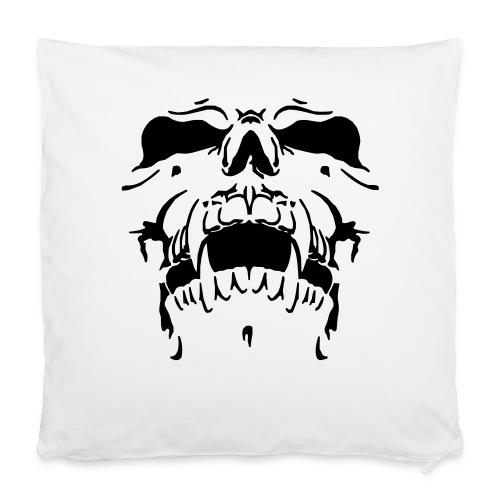 "Sweat Cinza Caveira - Pillowcase 16"" x 16"" (40 x 40 cm)"