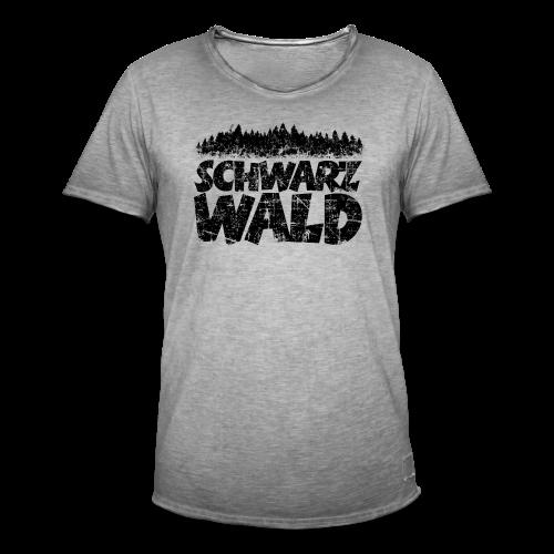 Schwarzwald  S-5XL T-Shirt (Vintage) - Männer Vintage T-Shirt