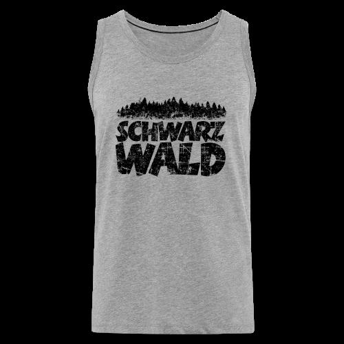 Schwarzwald  S-5XL T-Shirt (Vintage) - Männer Premium Tank Top