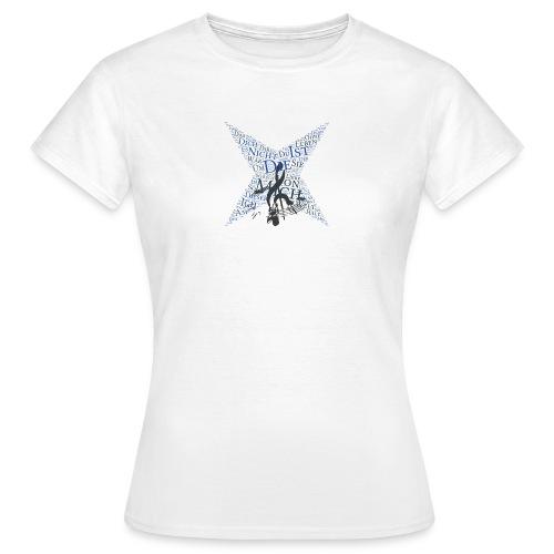 Star - Songtext - Nicht von dieser Welt - Frauen T-Shirt