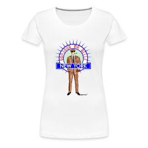 Bonjour ma belle New York - Vrouwen Premium T-shirt