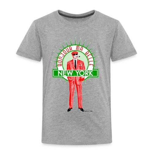 Bonjour ma belle New York - Kinder Premium T-Shirt