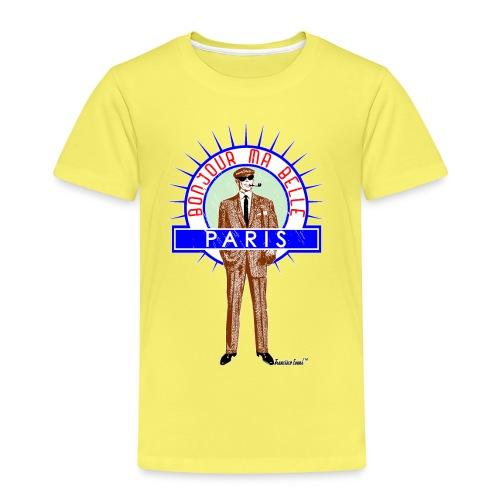 Bonjour ma belle Paris - Kinder Premium T-Shirt