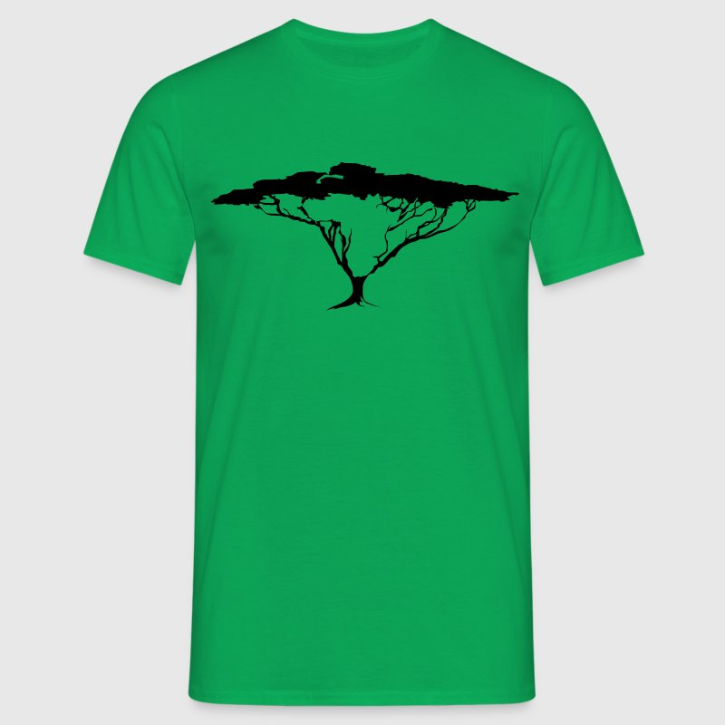 African Continent Tree - Men's T-Shirt