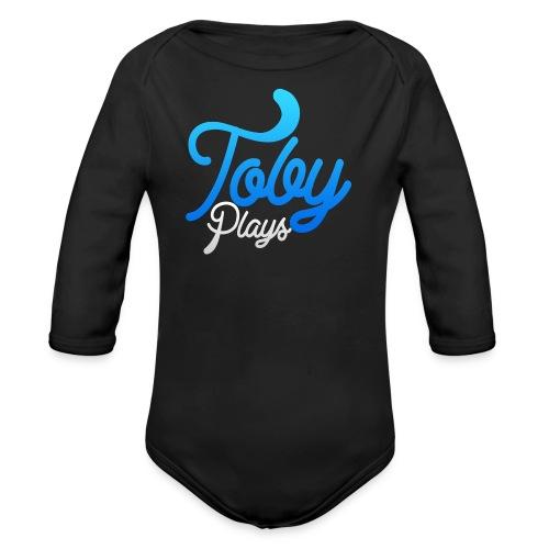 TobyPlays T-skjorte for tenåringer - Økologisk langermet baby-body