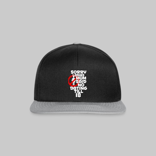 Too Young T-Shirt - Snapback Cap