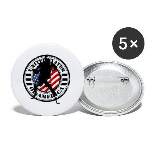 st002202 - Confezione da 5 spille piccole (25 mm)