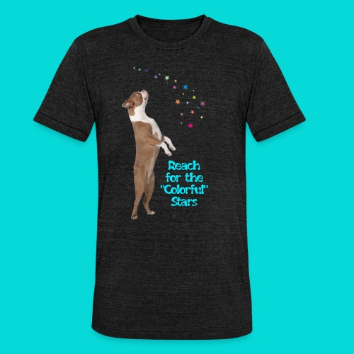 Reach for the Stars - Unisex Tri-Blend T-Shirt von Bella + Canvas