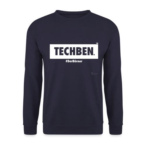 TechBen #DerBörner (Weiß) - Männer Pullover