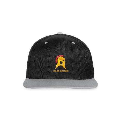 Ares Gaming Snapback Cap - Kontrast Snapback Cap