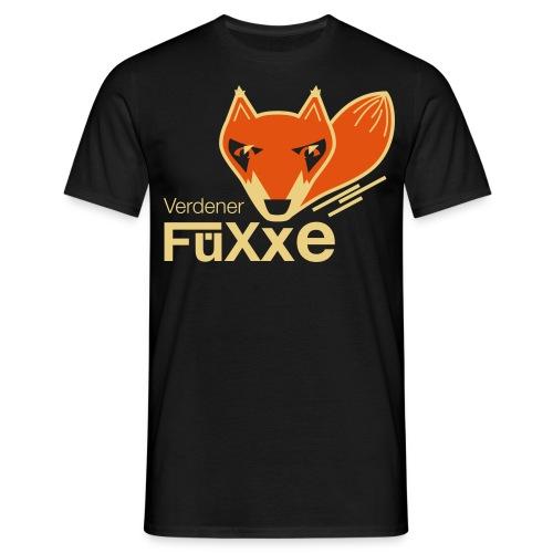 VerdenerFüXxe - Männer Premium T-Shirt - schwarz - Männer T-Shirt