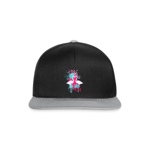 Flamingosplash - Snapback Cap