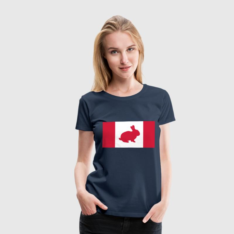 Canadian rabbit - Women's Premium T-Shirt