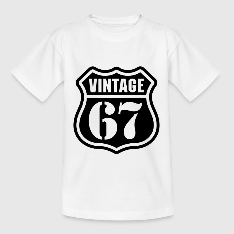 Vintage 67 T-Shirts - Teenager T-Shirt