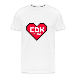 Koszulka Męska CDX Walentynki - Koszulka męska Premium