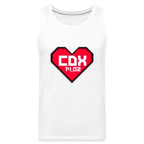 Koszulka Męska CDX Walentynki - Tank top męski Premium