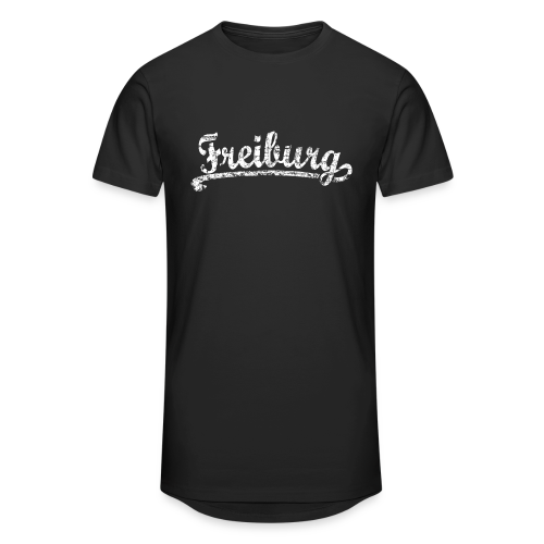 Freiburg Classic Vintage (Weiß) S-5XL T-Shirt - Männer Urban Longshirt