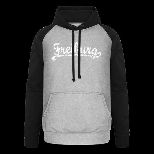 Freiburg Classic Vintage (Weiß) S-5XL T-Shirt - Unisex Baseball Hoodie