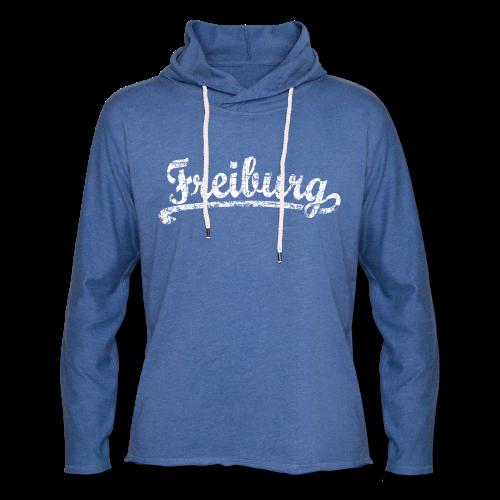 Freiburg Classic Vintage (Weiß) S-5XL T-Shirt - Leichtes Kapuzensweatshirt Unisex
