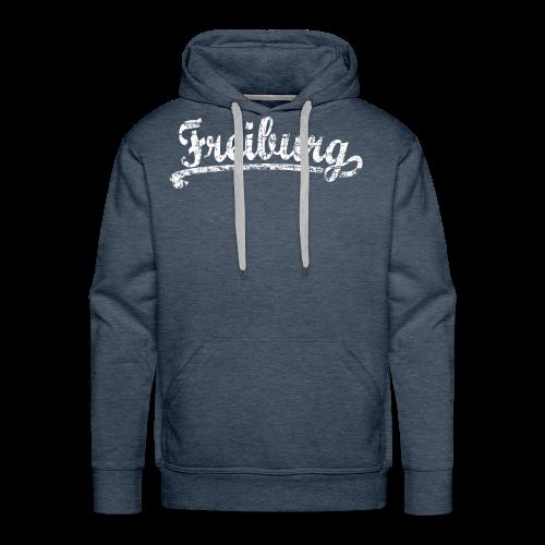 Freiburg Classic Vintage (Weiß) S-5XL T-Shirt - Männer Premium Hoodie