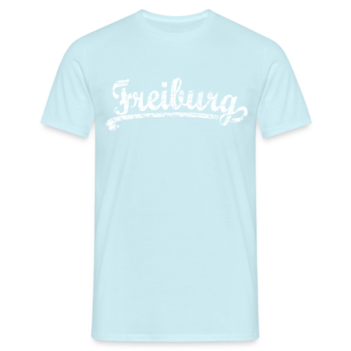 Freiburg Classic Vintage (Weiß) S-5XL T-Shirt - Männer T-Shirt