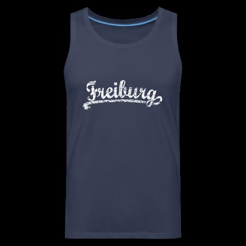 Freiburg Classic Vintage (Weiß) S-5XL T-Shirt - Männer Premium Tank Top
