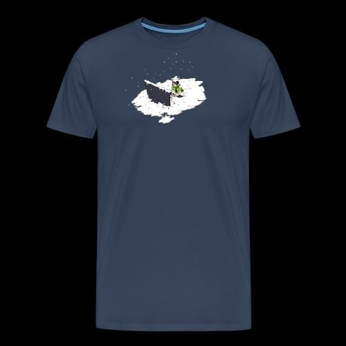 WT F - Men's Premium T-Shirt