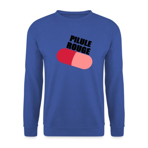 Pilule rouge - Sweat-shirt Homme