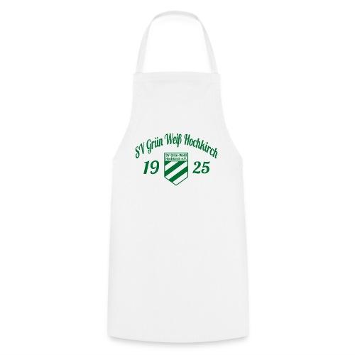 Shirt weiß mit Logo und Schritzug für unsere Herren - ♂  - Kochschürze