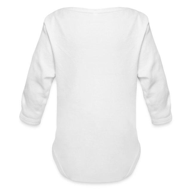 Shirt weiß mit Logo und Schritzug für unsere Herren - ♂