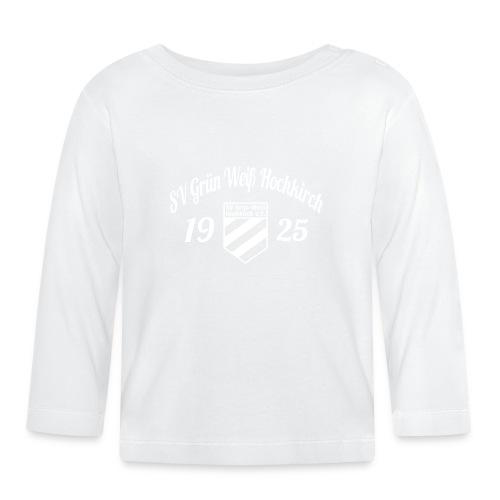 Shirt schwarz mit Logo und Schritzug für unsere Herren - ♂  - Baby Langarmshirt