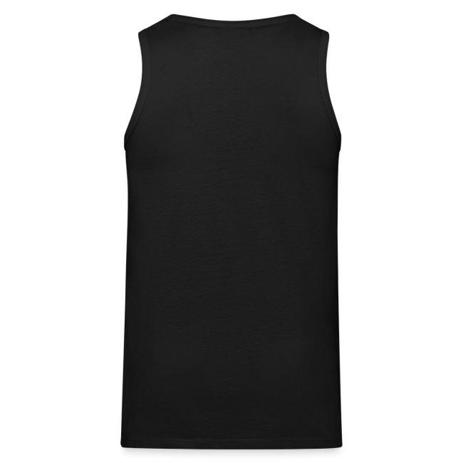 Shirt schwarz mit Logo und Schritzug für unsere Herren - ♂