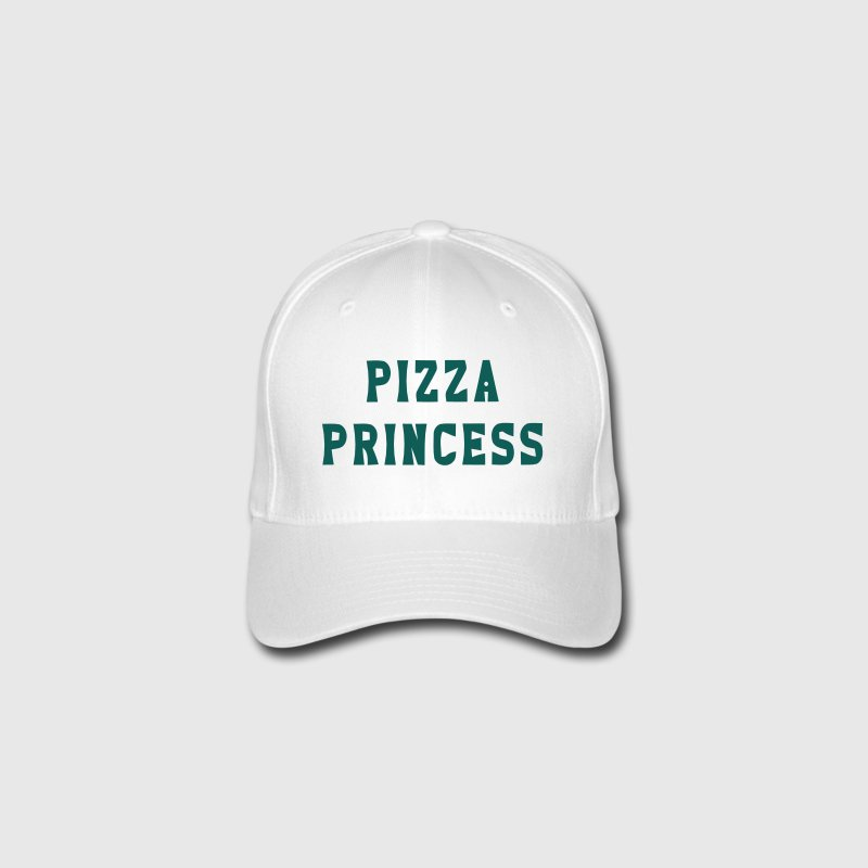 PIZZA PRINCESS Caps & Hats - Flexfit Baseball Cap