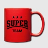 Super Team Mugs & Drinkware - Full Colour Mug
