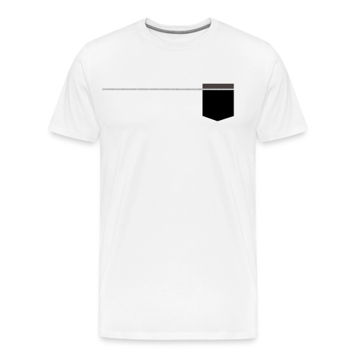 sweet-shirt poche imprimée - T-shirt Premium Homme