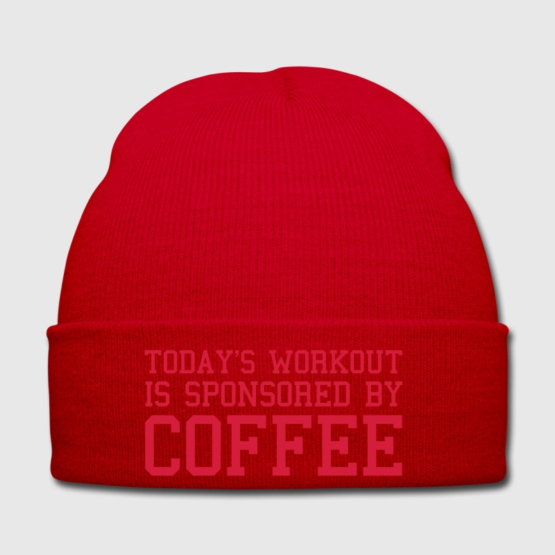 Today's Workout Gym Quote Caps & Hats - Winter Hat
