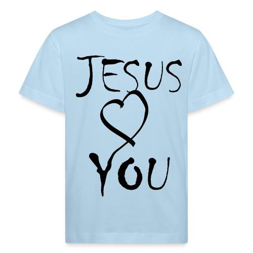 J.L.Y.-blue|white (Boys) - Kinder Bio-T-Shirt