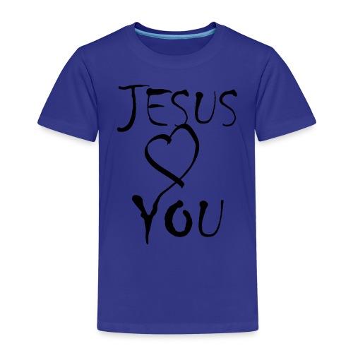 J.L.Y.-blue|white (Boys) - Kinder Premium T-Shirt