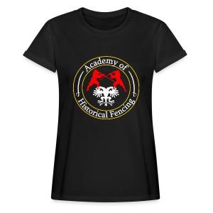 AHF club t-shirt (Womens) - Women's Oversize T-Shirt