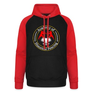 AHF club t-shirt (Womens) - Unisex Baseball Hoodie